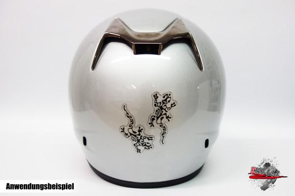 BIKE-label 910025 Helm Protektorsticker Gekko Eidechse Aufkleber
