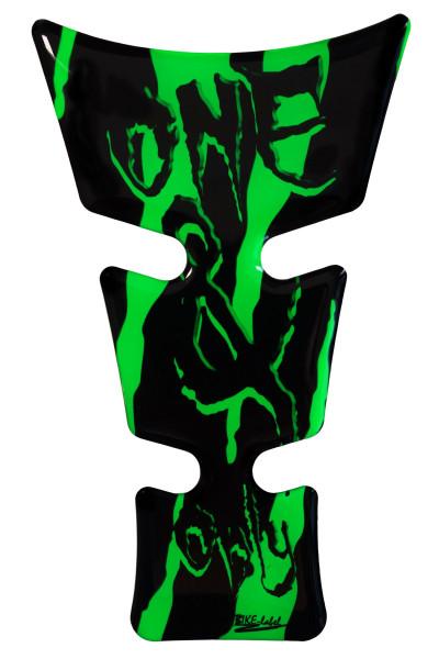 BIKE-label 501792 mini Tankpad Motorrad Monster Aufkleber neon Grün