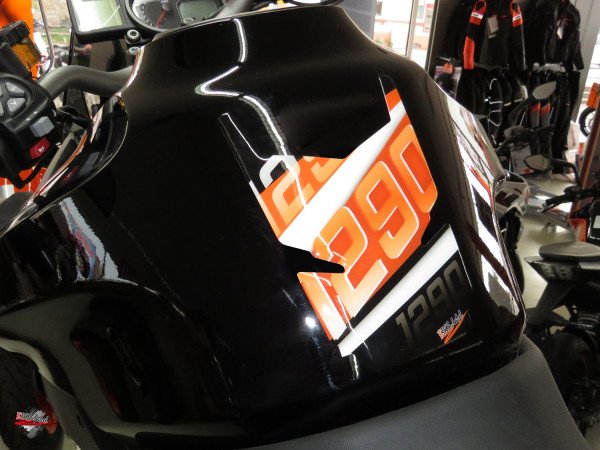 BIKE-label 502544 Tankpad Orange Stripes kompatibel für KTM 1290 Super Duke GT