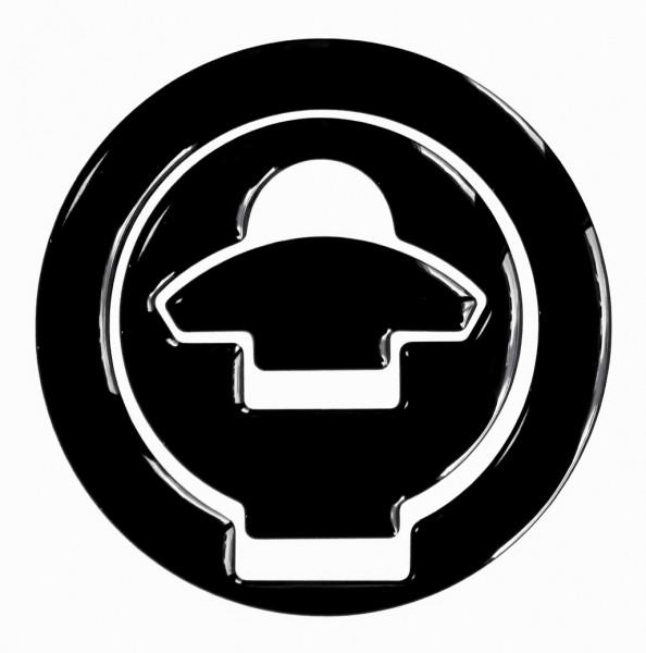 BIKE-label 610020 Tankdeckel Pad Black universell kompatibel für Ducati