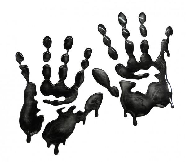 Seitentank-Pad - X-Ray Hands