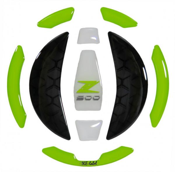 Tankdeckel Pad Grün Weiß Motorrad Schutz kompatibel für Kawasaki Z900
