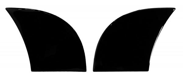BIKE-label 810075 Seitentank Pad Motorrad Lackschutz Aufkleber Black Schwarz