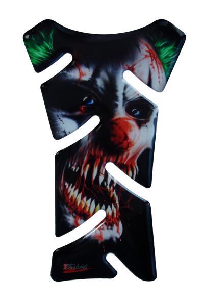 BIKE-label 501674 mini Tankpad Motorrad Aufkleber Clown Joker