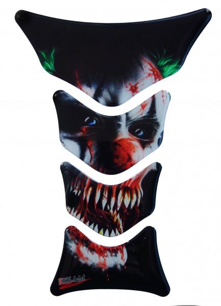BIKE-label 501675 Tankpad Motorrad Aufkleber Clown Joker