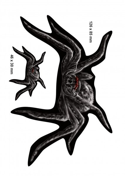 BIKE-label 400088 Aufkleber Sticker Spinne Spider Motiv