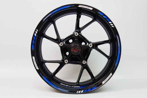 BIKE-label 710003 Felgenrand Aufkleber Racing 1000 Blau