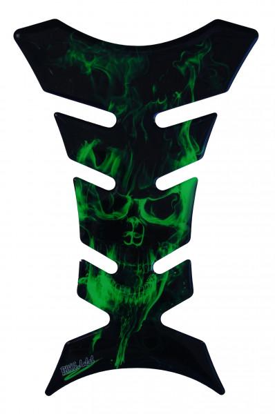 BIKE-label 500154 Tankpad Motorrad Aufkleber Ghost Green