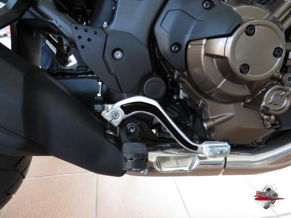 BIKE-label 550023 Deko Schutz-Aufkleber Fußhebel Black kompatibel für Honda CRF 1000L Africa Twin