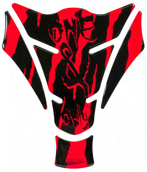 Tankpad Neon Rot one & only Monster Form 15