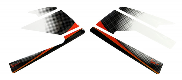 BIKE-label 800441 Seitentank Pad Orange kompatibel für KTM 390 Duke