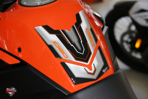 Tank-Pad Lackschutz Aufkleber für Motorrad-Tanks - passend für KTM 1090 Adventure