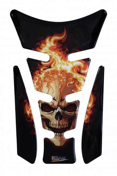 BIKE-label 500403 Tankpad Motorrad Aufkleber Ghost Rider