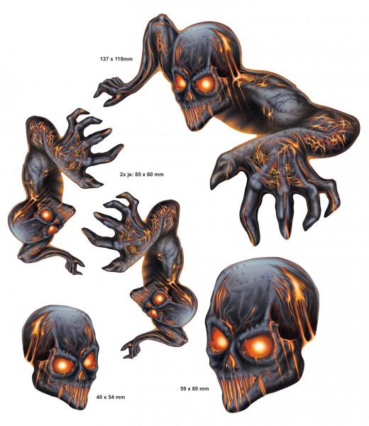 BIKE-label 400076 Aufkleber Sticker Teufel Lava Monster