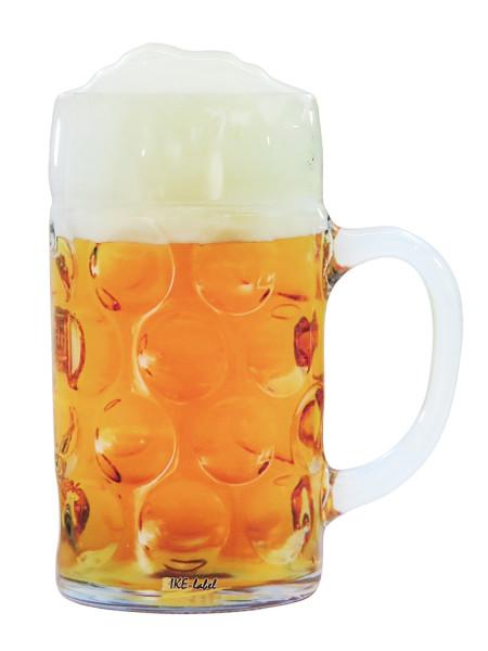 BIKE-label 910056 Aufkleber 3D Maß Bier Bierkrug Fun Sticker