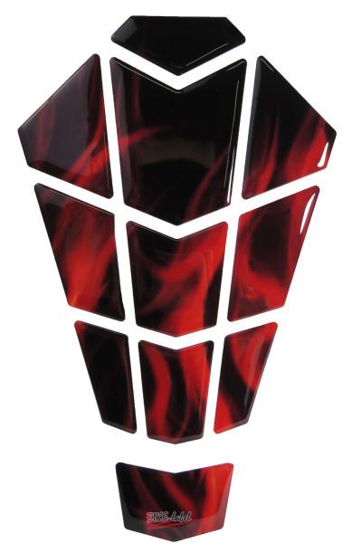 BIKE-label 502520 Tankpad Rot kompatibel für Honda NC 750 S