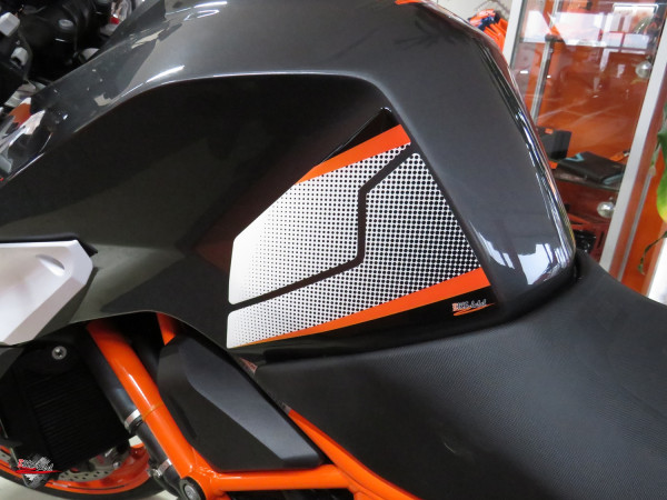 Seitentank-Pad - Dotwork Orange - passend für KTM 1290 SUPER DUKE R