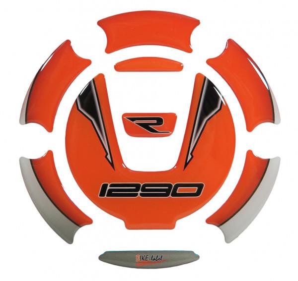 BIKE-label 660008 Tankdeckel Pad kompatibel für KTM 1290 Super Adventure R + S und 1290 Super Duke R