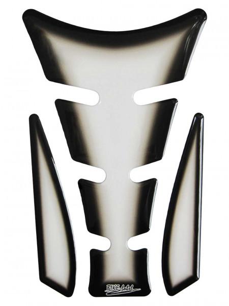 Tankpad Transparent / Schwarz-Verlauf Form 20