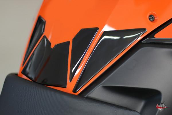 Tankpad Set (Tankpad + Seitentankpad) - Lackschutz für Motorrad Tanks passend für KTM 1290 Super Adventure R+S / 1190 Adventure+R / 1090 Adventure+R