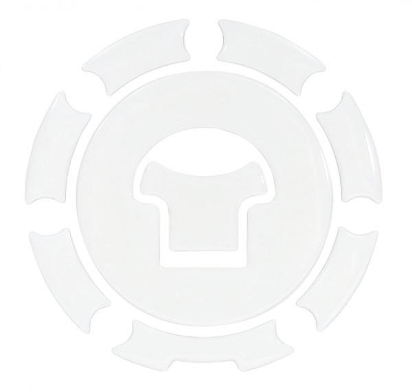 BIKE-label 600033 Tankdeckel Pad White Weiß universell kompatibel für Honda