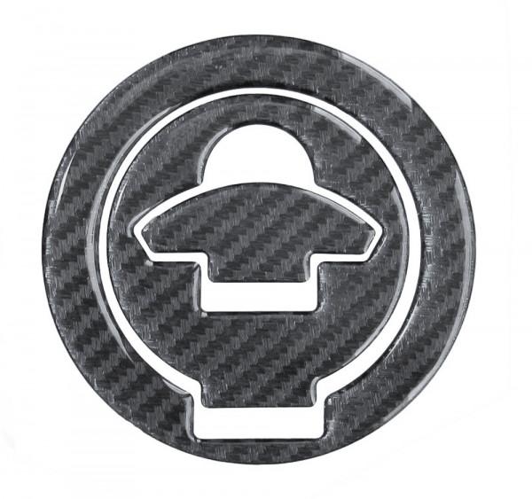 BIKE-label 610025 Tankdeckel Pad Carbon Schwarz universell kompatibel für Ducati