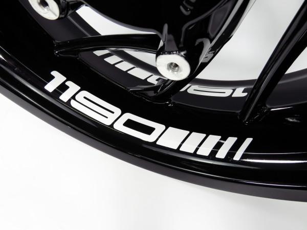 BIKE-label Felgenbett Aufkleber kompatibel für KTM 1190 versch. Farben wählbar