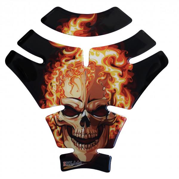 BIKE-label 500415 Tankpad Motorrad Aufkleber Ghost Rider