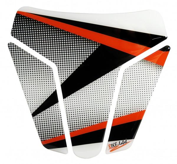 BIKE-label 502574-D Tankpad Motorrad Aufkleber Orange