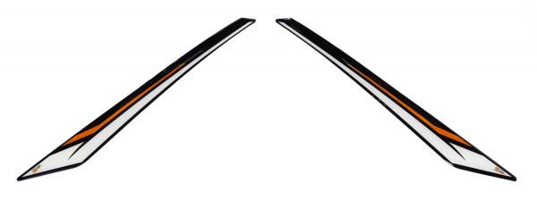 Deko-/Schutz-Pads 3D für die seitliche Verkleidung (linke + rechte Seite) - passend für KTM 790 Adventure + R